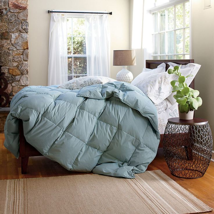 white bay supersize or oversized goose down comforter duvet the company store
