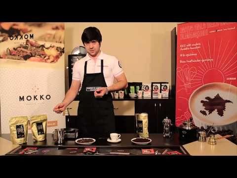 Метод заваривания Кофе по-турецки - YouTube