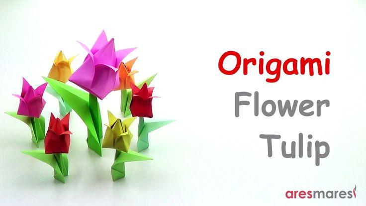 Origami Flower - Tulip (easy - modular) Forgot it was Valentine's Day? Quick Solution!!! #origami #unitorigami #howtomake #handmade #colorful #origamiart #diy #doityourself #paper #papercraft #handcraft #paperfolding #paperfold #paperart #papiroflexia #origamifolding #instaorigami #interior #instapaper #craft #crafts #creative #hobby #оригами #折り紙 #ユニット折り紙 #ハンドメイド #カラフル #종이접기 #اوريغامي