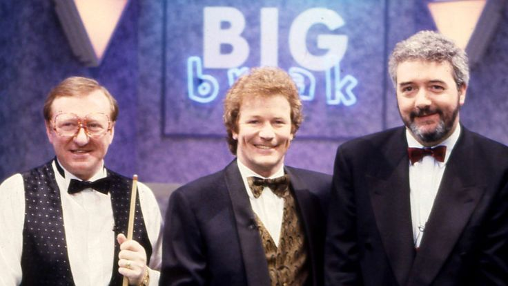 Jim Davidson presents the snooker-themed show where pros team up with contestants. (2001)