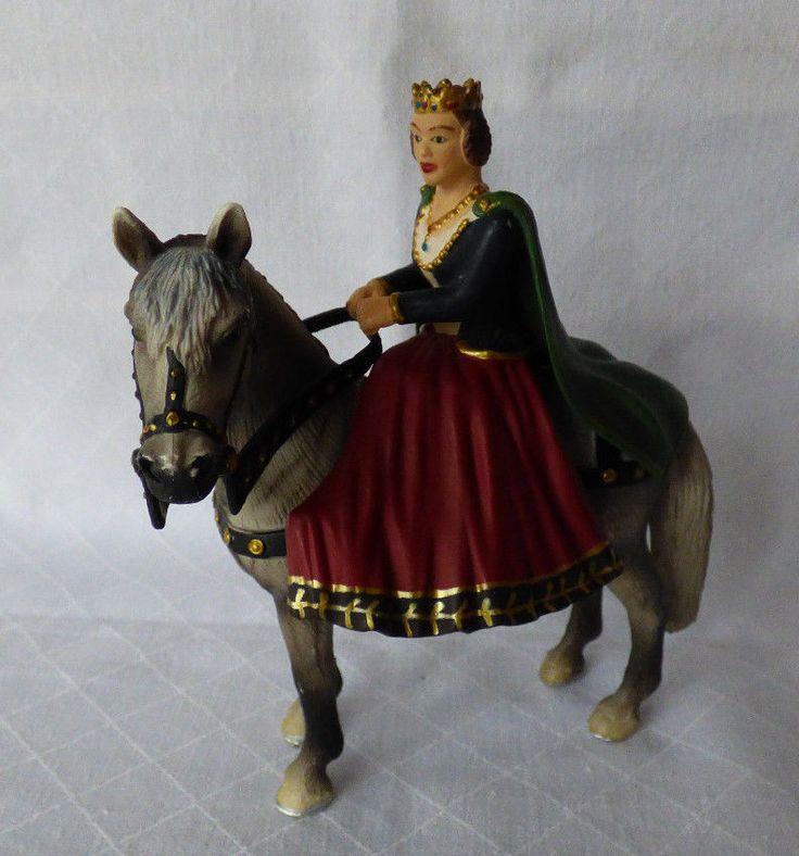 Schleich - 70048 - Königin zu Pferd - Ritterwelt - Ritter | eBay