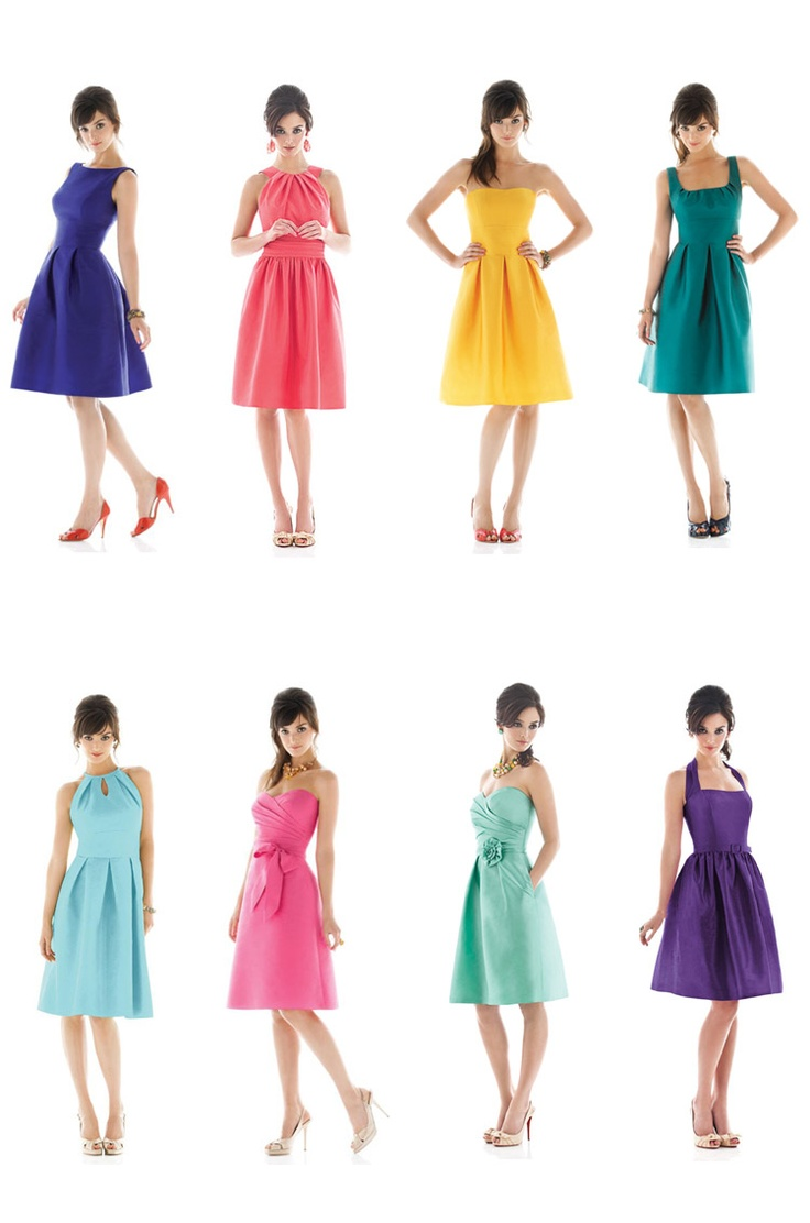 Bridesmaid dresses / afred sung