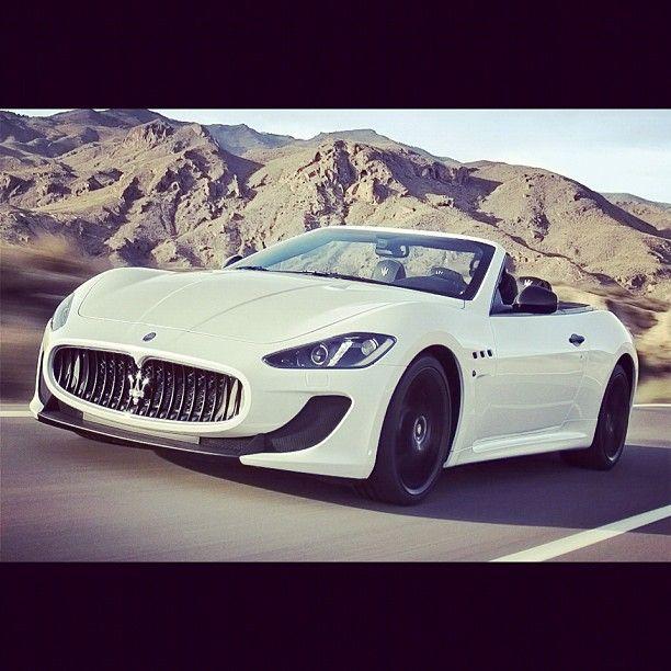 Hey Goodlooking. Maserati Grancabrio