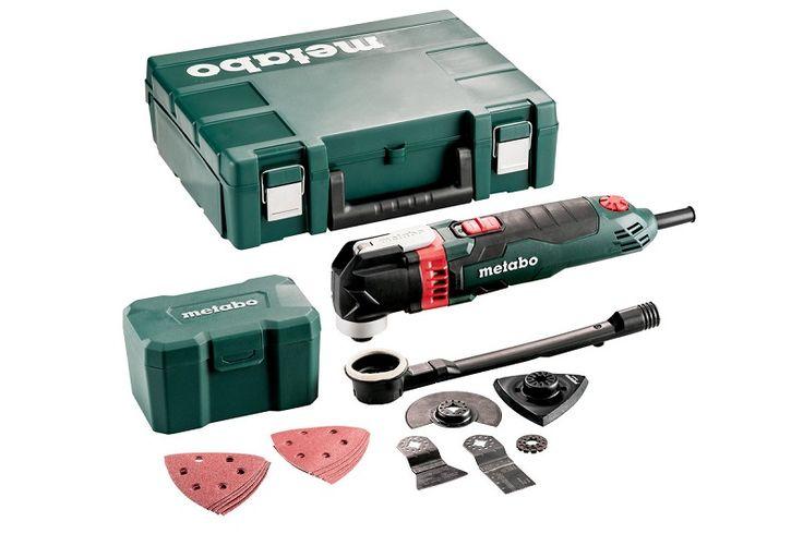Metabo MT 400 QUICK SET Multiwerkzeug, Kunststoffkoffer, für Holz - 601406500
