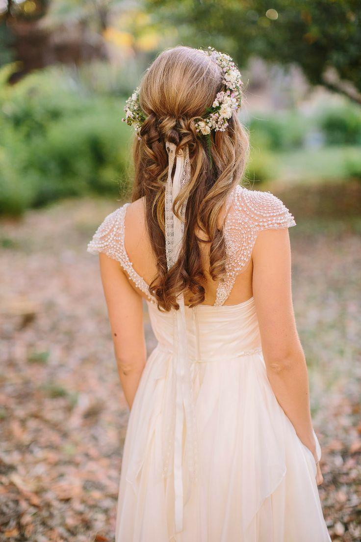 rustic wedding hairstyles   Romantic wedding hairstyles