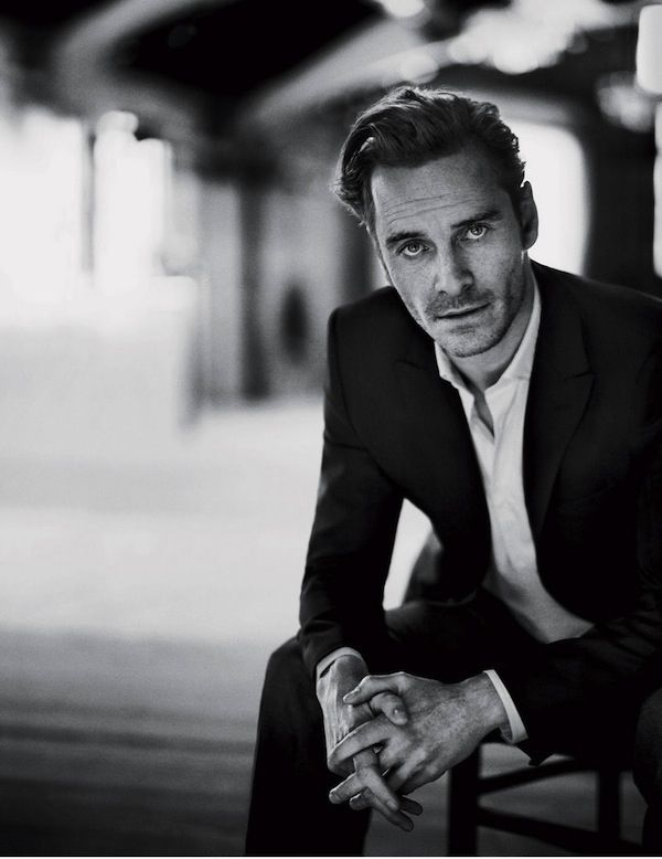 Michael Fassbender... my favorite ginger. And also the reason I have sold my soul to Team Magneto...