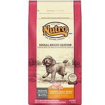 Nutro Natural Choice Small Breed Senior Dog Food 4 lb. | Dog | Pet Supermarket