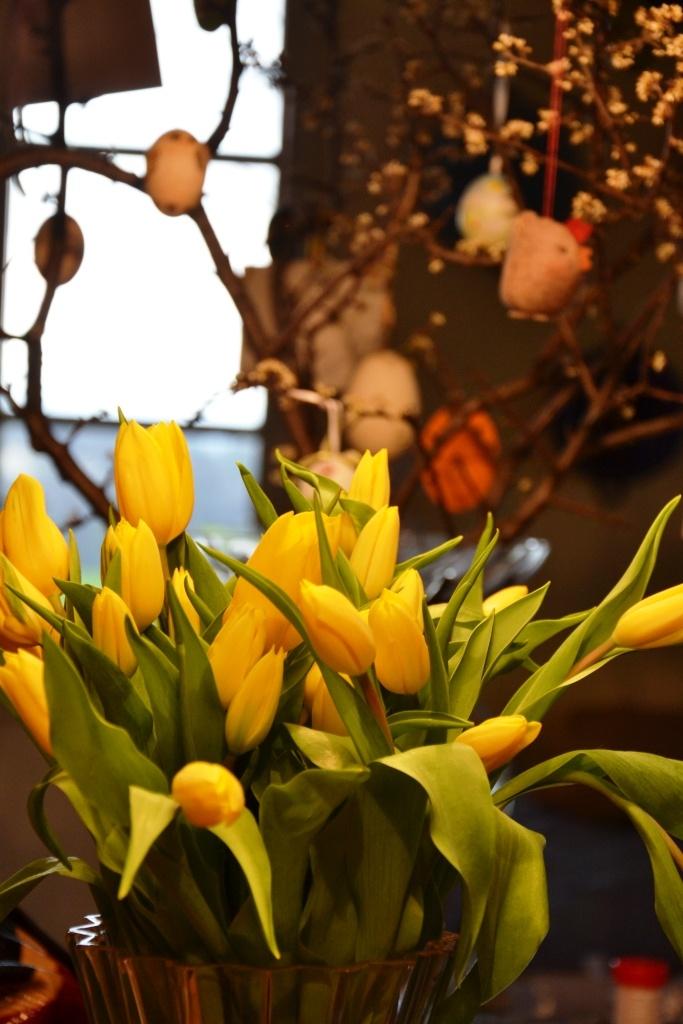 dettaglio - tulipani gialli