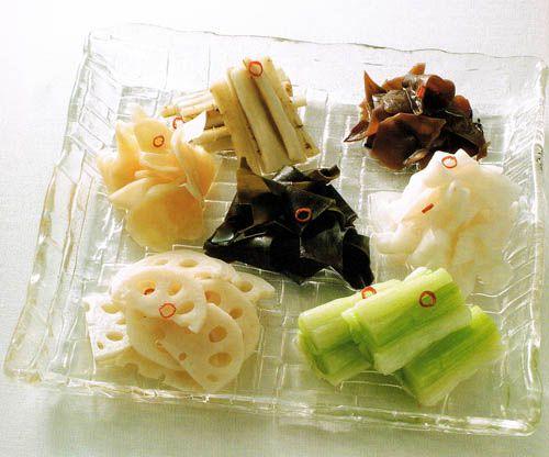 Bento.com recipes - Achara-zuke (pickles)