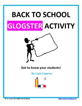 $ Instead of having your students complete a standard questionnaire so that you can learn about their interests, have them tell you about themselves by making a poster online with Glogster!
