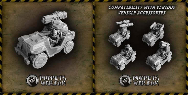 Today's new release: HOUND GP CAR https://puppetswar.eu/product.php?id_product=712