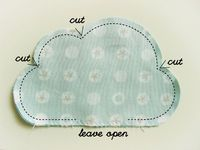 Clouds Pillow or cushion