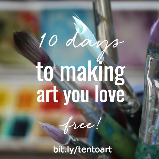 10 days to making art you love - free course