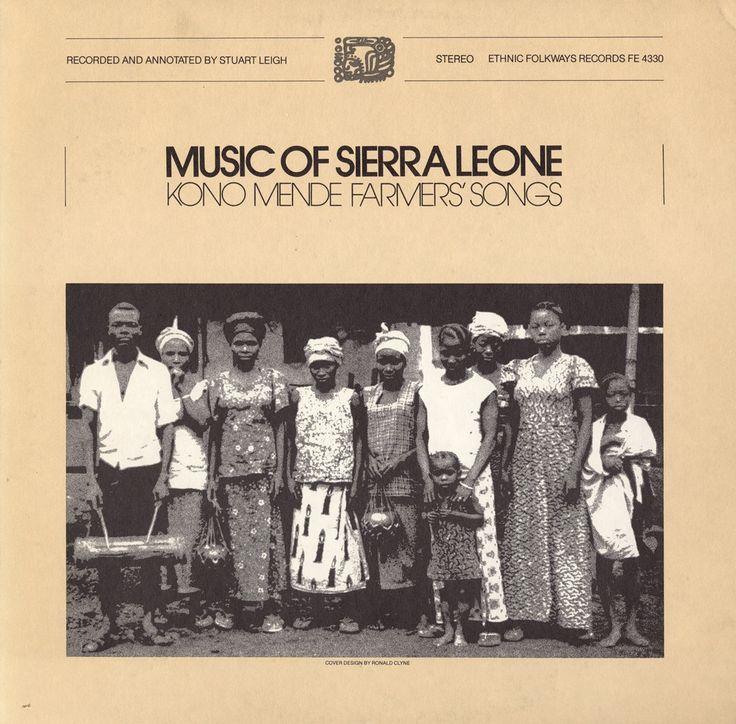Various - Music of Sierra Leone: Kono Mende Farmers' Songs