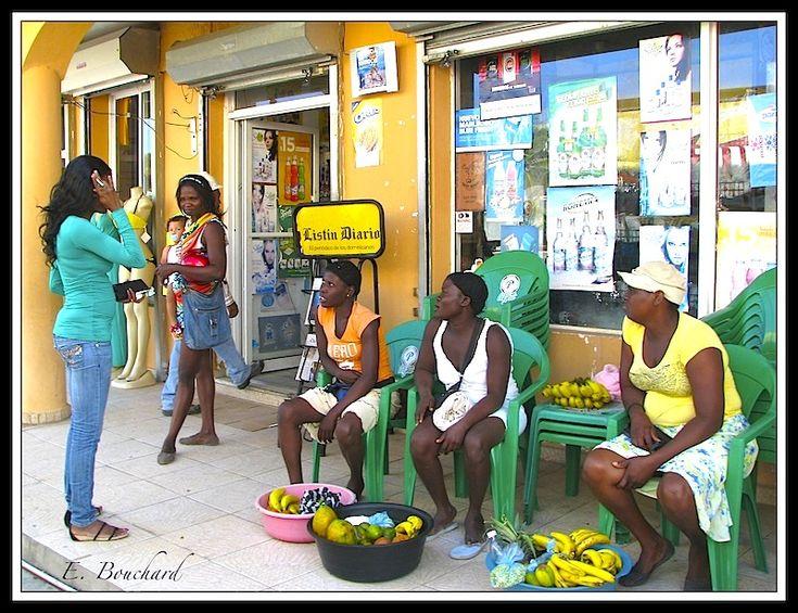 Vendeuses de fruits - Sosua, Puerto Plata - Dominican Republic