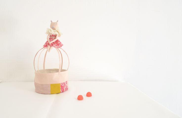 Ms. Pig basket http://cocon.bigcartel.com