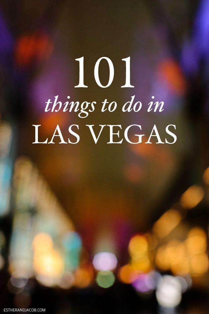 The Ultimate Las Vegas Bucket List (101 Things to Do in Vegas)