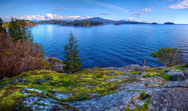 Gospel Rock Panorama - Gibsons Landing, Sunshine Coast, BC, Canada