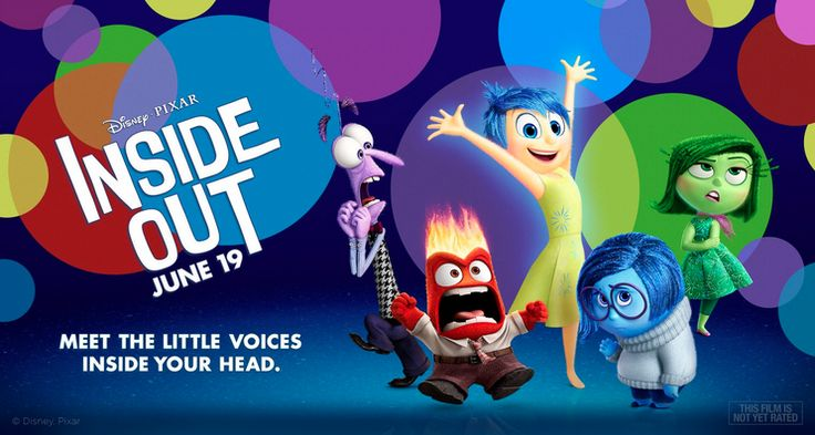 """New Animated movie """"Inside Out""""!"""