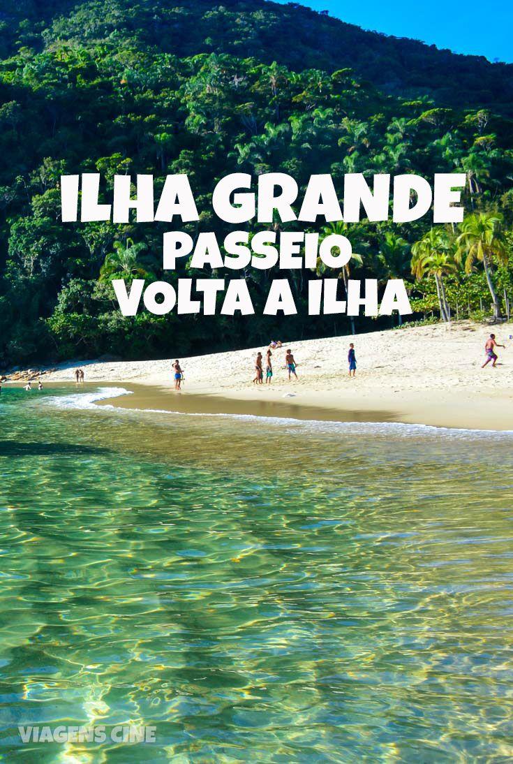 Ilha Grande: Passeio de Lancha Volta a Ilha - Praia de Caxadaco, Parnaioca, Praia do Aventureiro e Praia dos Meros