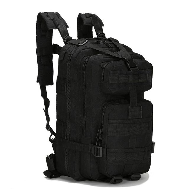8ddfda83cc 2017 3P Outdoor Military Tactical Backpack 30L Molle Bag Army Sport Travel  Rucksack Camping Hiking Trekking