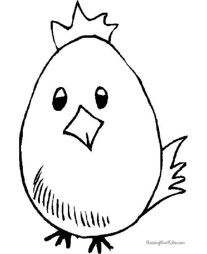 Easter Coloring Pages For Kindergarten : Preschool easter coloring pages are fun but they also