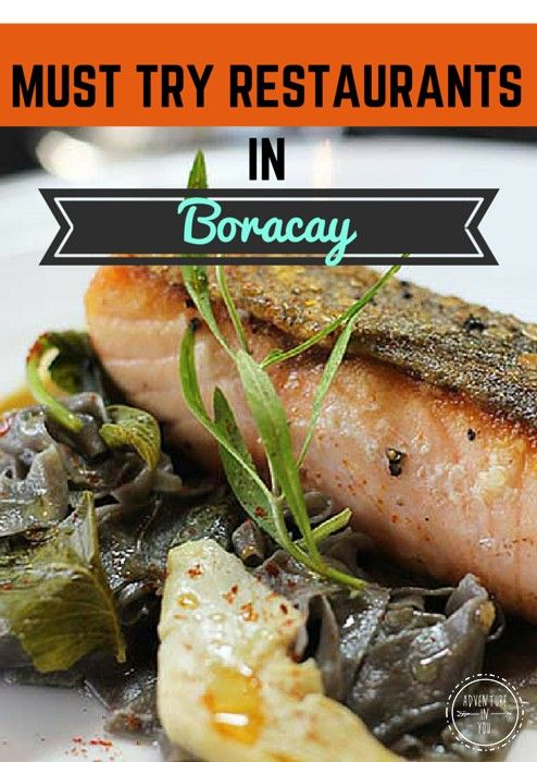 A collection of drool worthy photos of where to eat in Boracay Island, Philippines http://www.adventureinyou.com/where-to-eat-in-boracay/