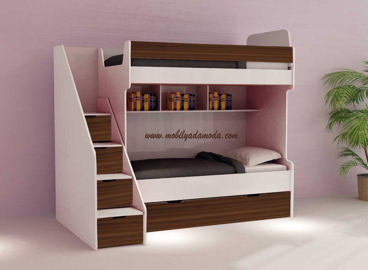 Çocuk Odalarına Fonksiyonel ve Estetik Çözümler...  http://www.mobilyadamoda.com/Ruya-Ranza-Ceviz-Beyaz,PR-681.html