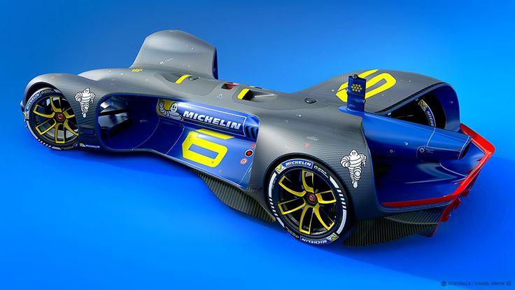 Roborace – The Car designed by Daniel Simon