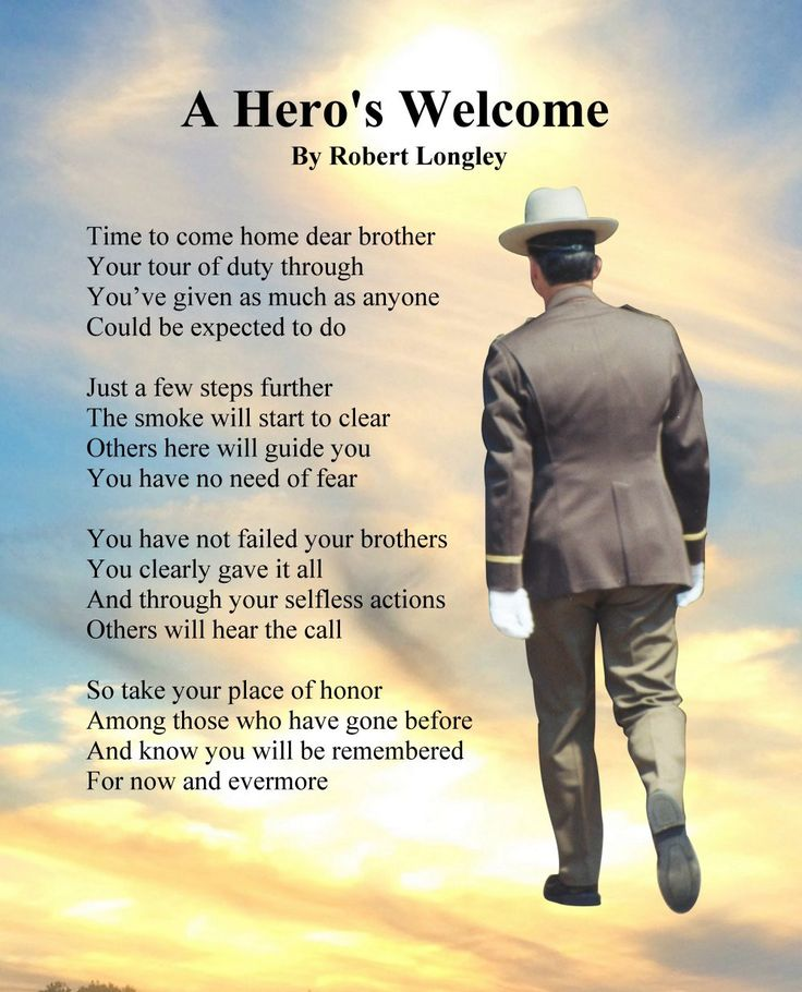 A Hero's Welcome Prints Police Memorial Print Number 1