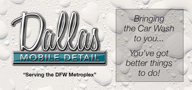 Mobile Auto Detailing in Dallas, TX Car detailing