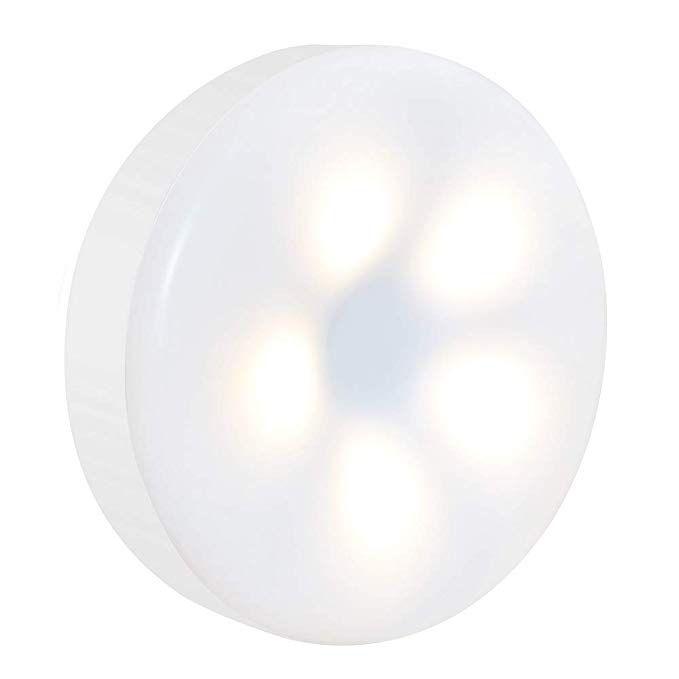 Mini Touch Light Rtsu Rechargeable Battery Operated Closet Lights Wardrobe Ligh Battery Operated Closet Lights Led Night Light Under Cabinet Lighting Wireless