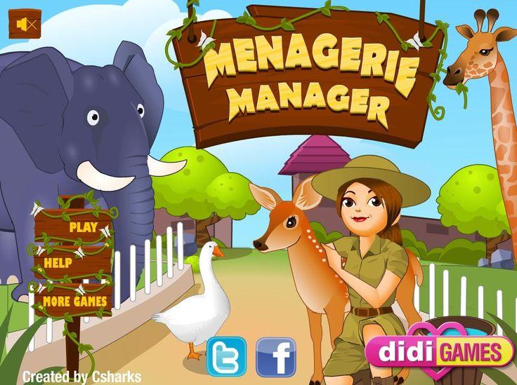 Czy praca w zoo może być ciężka? Spróbuj sama obsłużyć gości i zadbaj o wymagania zwierząt na poszczególnych wybiegach http://www.ubieranki.eu/gry/3762/praca-w-zoo.html