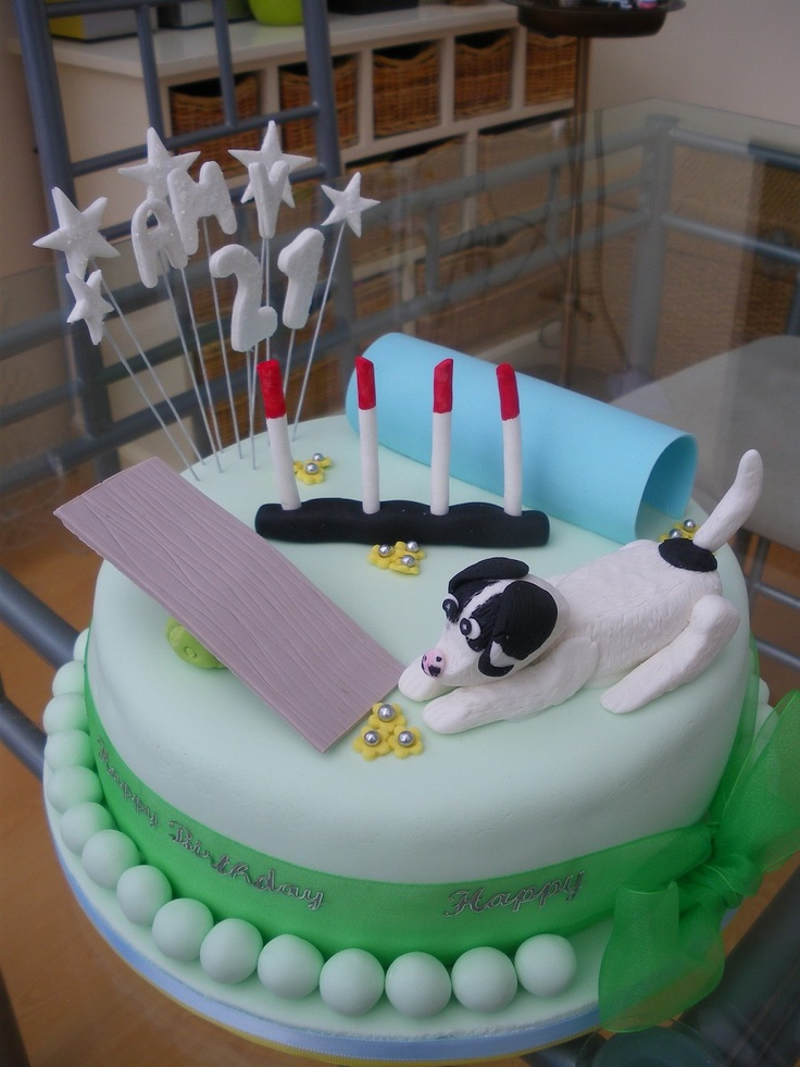 11 best Agility Theme Cakes images on Pinterest Theme ...