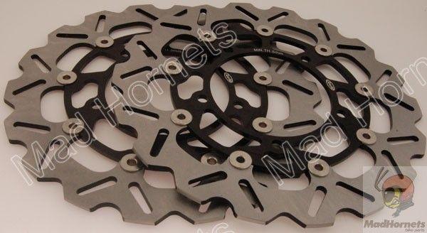 Mad Hornets - Front Brake Disc Rotors Suzuki Hayabusa GSXR1300 (08-12), B-KING (08-12), GSX F650 (08-11), GSX FA1250 (10-11), GSR 400 (06-10), GSF BANDIT (06-11), GSR 750 (2011), DL V-STROM (07-12) Arashi, $199.99 (http://www.madhornets.com/front-brake-disc-rotors-suzuki-hayabusa-gsxr1300-08-12-b-king-08-12-gsx-f650-08-11-gsx-fa1250-10-11-gsr-400-06-10-gsf-bandit-06-11-gsr-750-2011-dl-v-strom-07-12/)