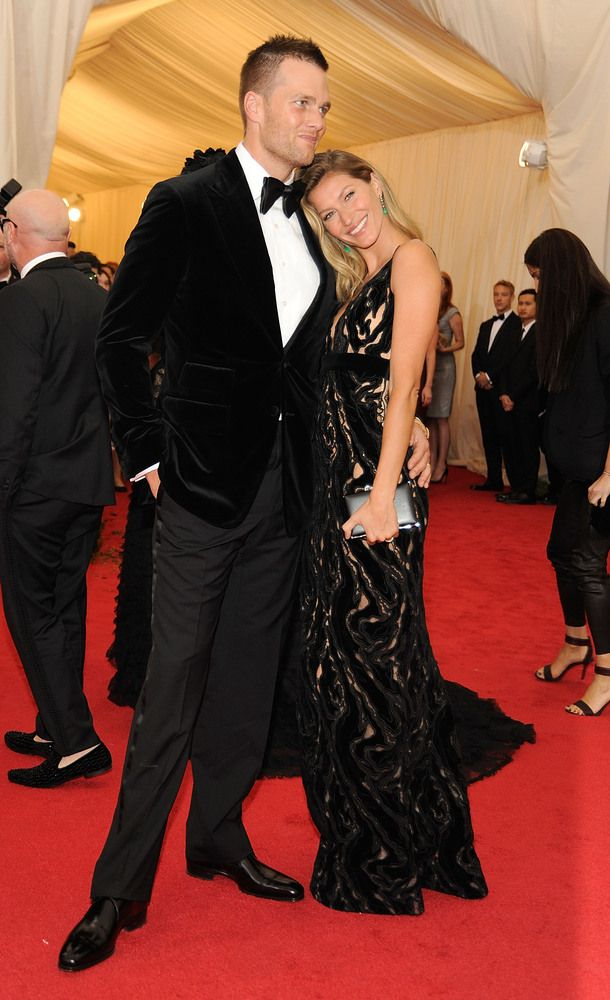 Tom Brady and Giselle Bundchen at the Met Ball 2014