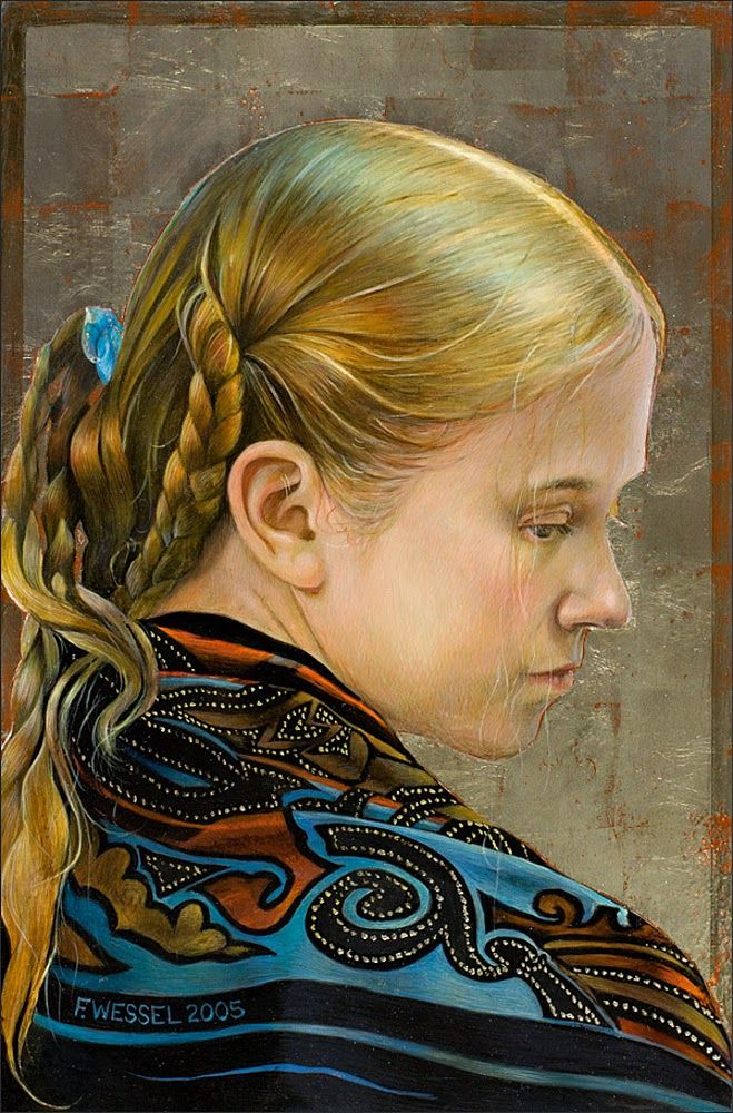 Fred Wessel ~ Egg Tempera painter