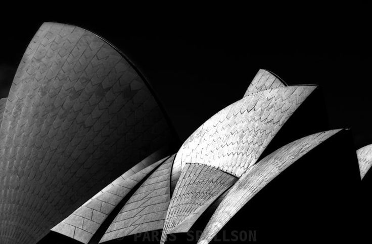 Concrete Sails- Sydney Opera House