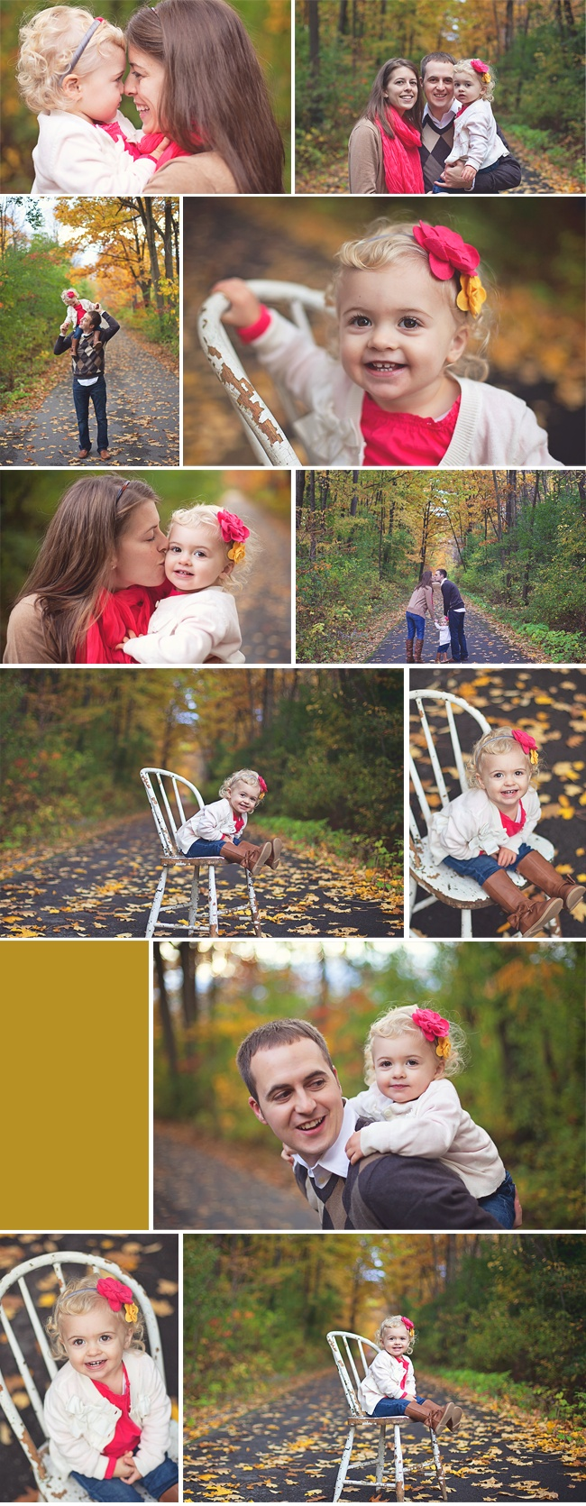 Outdoor fall family session - pretty pops of pink. Evans Mills, NY Family Photographer