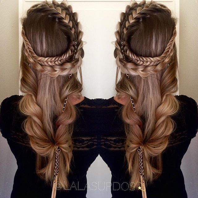 Romantic Game Of Thrones Braid And Style By Lalas Updos