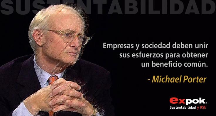 Michael Porter y la sustentabilidad.