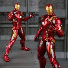Marvel Captain America Civil War Iron Man PVC Action Figure Collectible toy