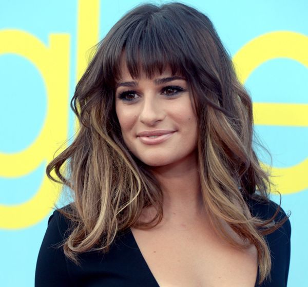 I will have hair like this. I will have the bangs but my overall color will be the bottom blonde color! I'm obsessed with this! Lea Michele is GORGEOUS!