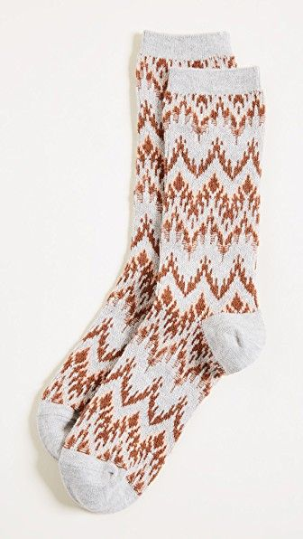 Madewell Ski Chevron Trouser Socks