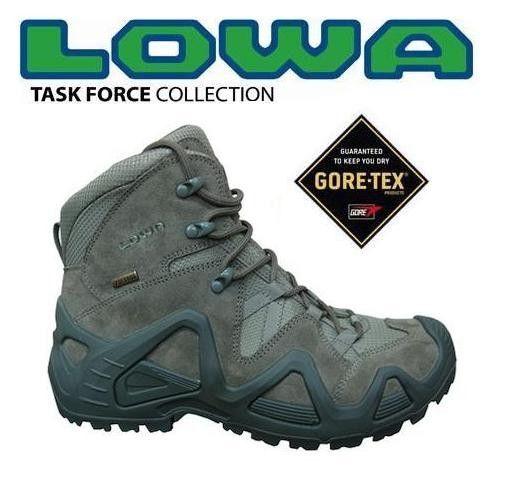 Lowa Zephyr GTX mid sage green - Scarpe - Abbigliamento