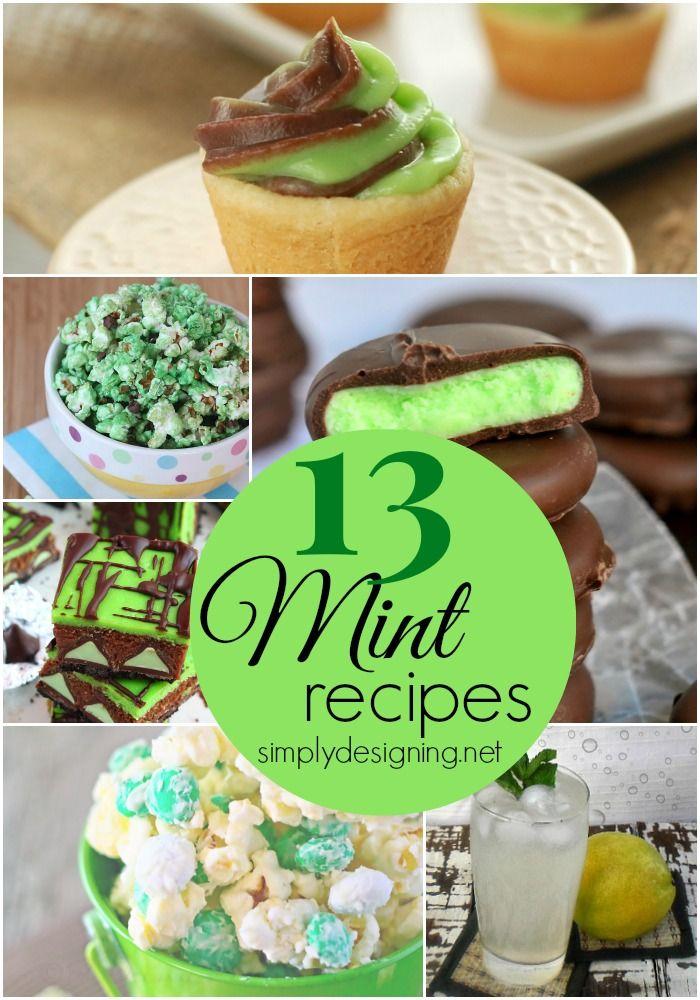 13 Mint Recipes