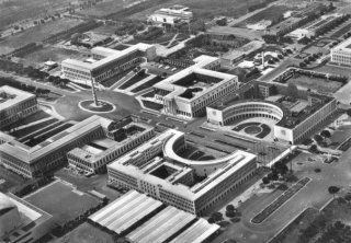 Esposizione Universale di Roma, 1942 la struttura iniziale
