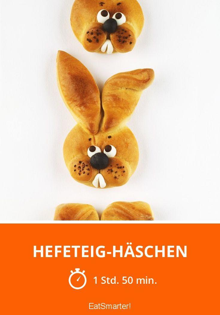 Hefeteig-Häschen - smarter - Zeit: 1 Std. 50 Min. | eatsmarter.de