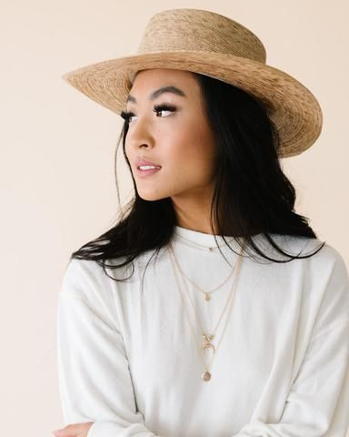 35c6cb5b01ab1a Lack Of Color Palma Boater Hat in 2019 | spring collection 2019 ...