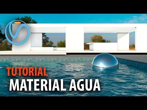 Curso SketchUp y VRay 06: Material de agua realista